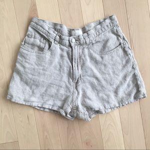 Vintage Gap Linen Shorts